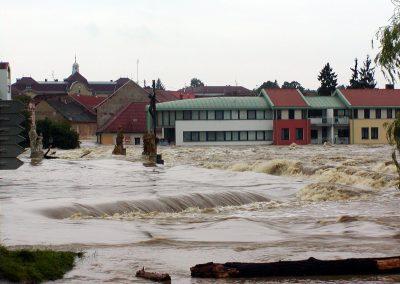 Téma hodiny: Předcházení povodním